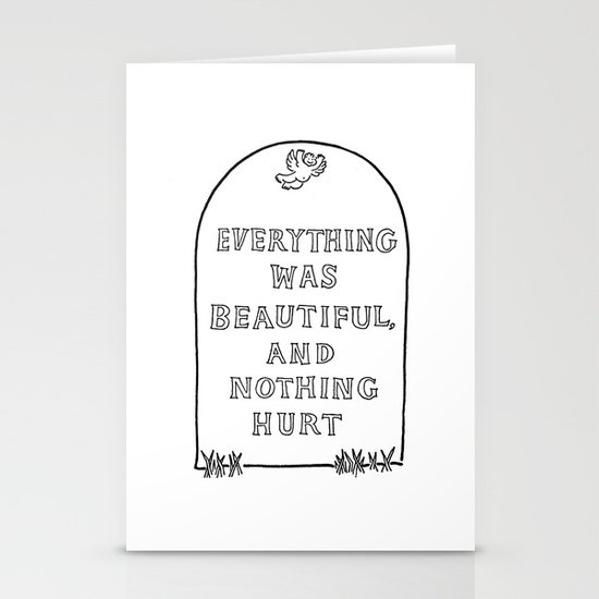 Vonnegut -  Billy Pilgrim Stationery Cards