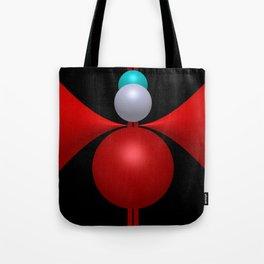 3 colors, 3 dimensions Tote Bag