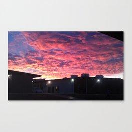 Zona Sunrise Canvas Print