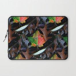 Gradient Autumn Leaf Laptop Sleeve