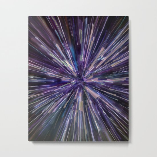 Welcome to the Galaxy Metal Print