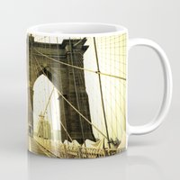 bridge Mugs featuring Bridge by Jacquie Fonseca