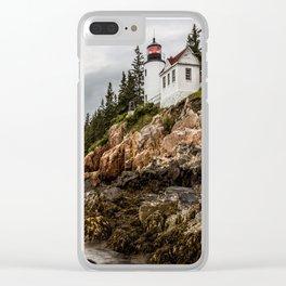 Bass Harbor Lighthouse - Acadia National Park Clear iPhone Case