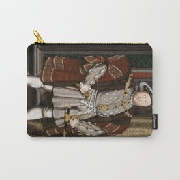 Portrait of Henry VIII - After Hans Holbien the Younger Carry-All Pouch