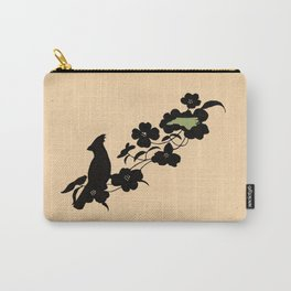 North Carolina - State Papercut Print Carry-All Pouch