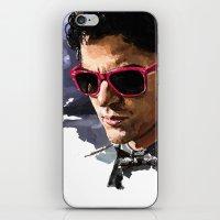 darren criss iPhone & iPod Skins featuring Darren by Monika Gross