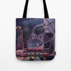 Science Charger Tote Bag