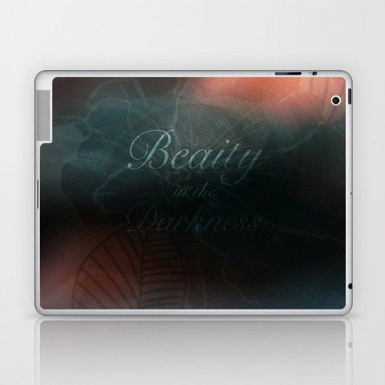 Beauty in the Darkness Laptop & iPad Skin