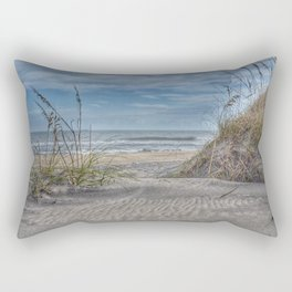 Sand Swirls Rectangular Pillow