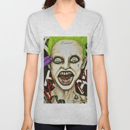 The Joker Suicide Squad Unisex V-Neck