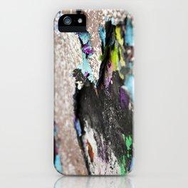 Old graffiti iPhone Case