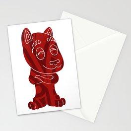 Tiki Dog Stationery Cards