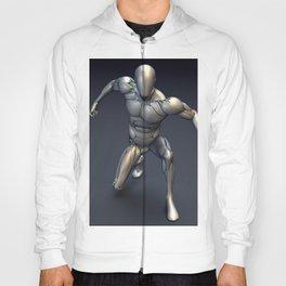 Silver Cyborg Landing Hoody