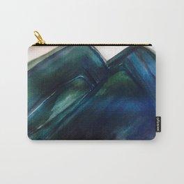 Blue/green grass Carry-All Pouch