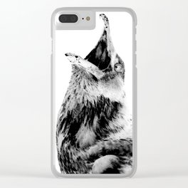 This won't hurt a bit Clear iPhone Case