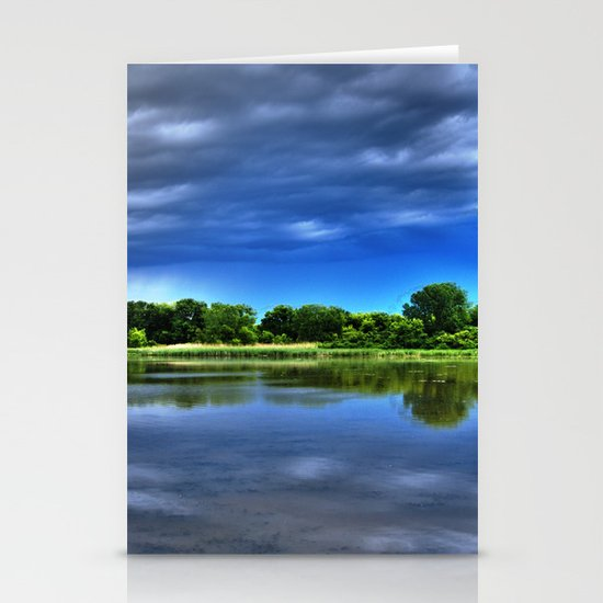 Rock Cut State Park - HDR Stationery Cards