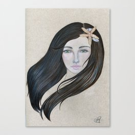 The Sea Maiden Canvas Print