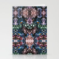 crystal Stationery Cards featuring Crystal by Kangarui by Rui Stalph