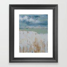 Blue Wind Framed Art Print