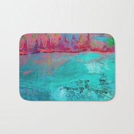Turquoise Ocean Bath Mat