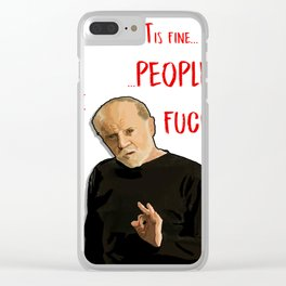 The Planet is fine... Clear iPhone Case