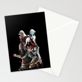 Assassin's creed family Stationery Cards
