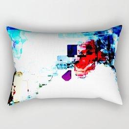 Techno Blitz Rectangular Pillow