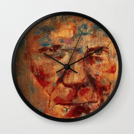 Oblivious People 4 Wall Clock