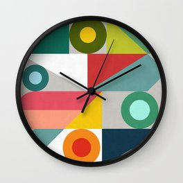 Contemporary art I Wall Clock