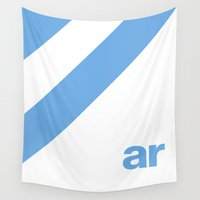 argentina Wall Tapestries featuring Colors of Argentina by difform