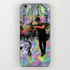 """43/52: """"Tourist in your own city/town/street"""" iPhone & iPod Skin"""