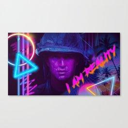 I Am Reality Canvas Print