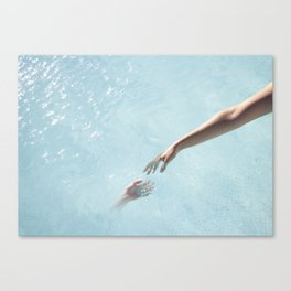my soul will find yours Canvas Print