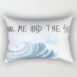 Me and The Sea Rectangular Pillow