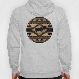 American Native Pattern No. 197 Hoody