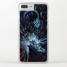 microraptor Clear iPhone Case