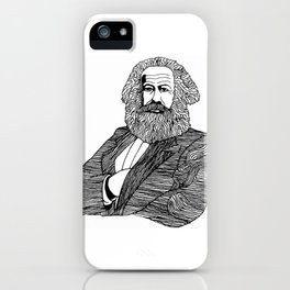 Karl Marx iPhone Case