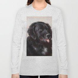 The Newfoundland Dog - Carl Reichert Long Sleeve T-shirt