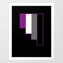 Asexual Art Print