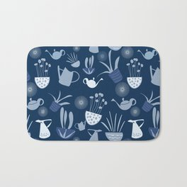 Wintergarden Pattern Bath Mat