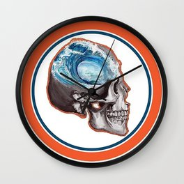 Ocean Minded Wall Clock