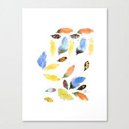 Plume Rough Canvas Print