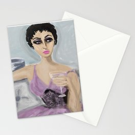 """MAGGIE ADORES HER BUBBLES"" Stationery Cards"
