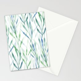 Watercolor Reeds Stationery Cards