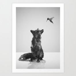 Little Friend Art Print