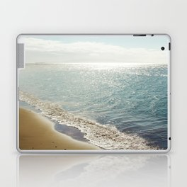 beauty and the beach Laptop & iPad Skin