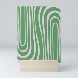 Green Algae Pond - Abstract Motif Mini Art Print
