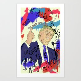 Trump Art Print