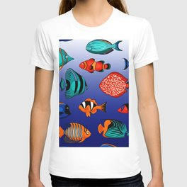 Peces tropicales T-shirt