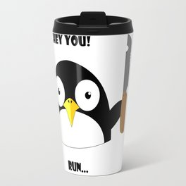 Hey_You_Run Travel Mug